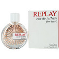 Replay Eau De Toilette Spray 3.3 oz for women by Replay