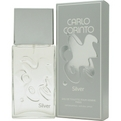 Carlo Corinto Silver Eau De Toilette Spray 3.4 oz for men by Carlo Corinto