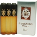 Cubano Bronze Eau De Toilette Spray 4 oz for men by Cubano