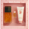 White Shoulders Eau De Cologne Spray 4.5 oz & Body Lotion 3.3 oz & Parfum .25 oz Mini for women by Evyan