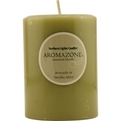 Avocado & Vanilla Mint Essential Blend One 3x4 Inch Pillar Essential Blends Candle.  Burns Approx. 90 Hrs. for unisex by Avocado & Vanilla Mint Essential Blend