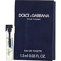 Dolce & Gabbana Edt Vial On Card for men by Dolce & Gabbana