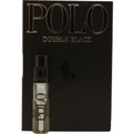 Polo Double Black Eau De Toilette Spray Vial On Card for men by Ralph Lauren