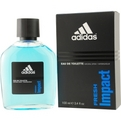 Adidas Fresh Impact Eau De Toilette Spray 3.4 oz for men by Adidas