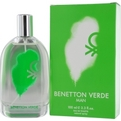 Benetton Verde Edt Spray 3.4 oz for men by Benetton