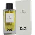 D & G 11 LA FORCE Cologne pagal Dolce & Gabbana