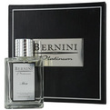 Bernini Platinum Edt Spray 3.4 oz In A Leather Case (Limited Edition) for men by Bernini