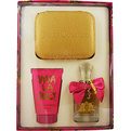 Viva La Juicy Eau De Parfum Spray 1.7 oz & Body Lotion 4.2 oz & Keepsake Box for women by Juicy Couture