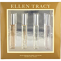 Ellen Tracy Variety 4 Piece Mini Variety With Ellen Tracy & Ellen Tracy Bronze & Tracy & Ellen (New) And All Are Eau De Parfum Rollerball.33 oz Minis for women by Ellen Tracy