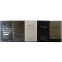 Giorgio Armani Variety 5 Piece Mens Variety With Armani Code & Armani & Acqua Di Gio & Attitude & Emporio Armani Diamonds And All Are Edt Minis for men by Giorgio Armani