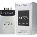 Bvlgari Man Extreme Eau De Toilette Spray 3.4 oz for men by Bvlgari
