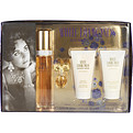 White Diamonds Eau De Toilette Spray 1.7 oz & Body Lotion 1.7 oz & Body Wash 1.7 oz & Parfum .12 oz Mini for women by Elizabeth Taylor