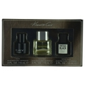 Kenneth Cole Variety 3 Piece Mini Variety With Kenneth Cole Black, Kenneth Cole Reaction & Kenneth Cole Vintage Black & All Are Edt Spray .5 oz for men by Kenneth Cole