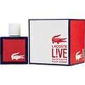 Lacoste Live Edt Spray 3.4 oz for men by Lacoste