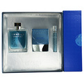 Chrome United Edt Spray 3.4 oz & Aftershave Balm 2.5 oz & Edt Spray .23 oz Mini for men by Azzaro