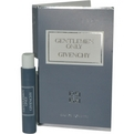 Gentlemen Only Edt Spray Vial On Card for men by Givenchy