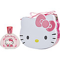 Hello Kitty Eau De Toilette Spray 3.3 oz & Lunch Box for women by Sanrio Co.