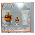 Jour d'Hermes Absolu Eau De Parfum Spray Refillable 1.7 oz & Body Lotion 1 oz & Eau De Parfum .25 oz Mini for women by Hermes
