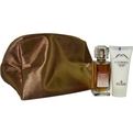 Les Orientaux Patchouli Edt Spray 1 oz Mini & Body Lotion 1.2 oz & Cosmetic Purse for women by Molinard
