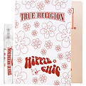 True Religion Hippie Chic Eau De Parfum Spray Vial On Card for women by True Religion