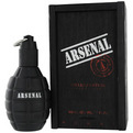 ARSENAL BLACK Cologne da Gilles Cantuel