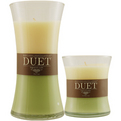 KIWI APPLE & WARM VANILLA SCENTED Candles poolt KIWI APPLE & WARM VANILLA SCENTED