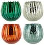 FLUTED MERCURY BOWL Candles pagal